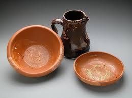 vaisselle en terre cuite archéologie a16 la terre et le verre mhdp musée de l u0027hôtel dieu