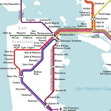San Francisco Bay Map by Bay Area Rapid Transit Bartgov Bart San Francisco Map Bay Area
