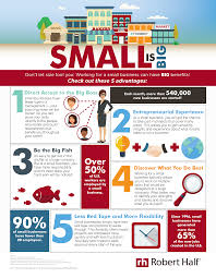 Robert Half Resume Advantages Of Working For A Small Business Robert Half