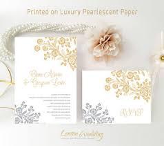 wedding invitations and gold gold wedding invitations lemonwedding