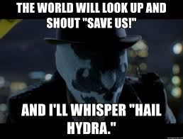 Hail Meme - the world will look up and shout save us and i ll whisper hail