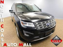 Ford Explorer Xlt - 2017 used ford explorer xlt 4wd at north coast auto mall serving