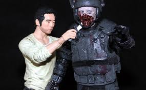 Carl Walking Dead Halloween Costume Glenn Review Walking Dead Series Mcfarlane Toys