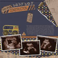 sonogram photo album best 25 ultrasound scrapbook ideas on scrapbook ideas