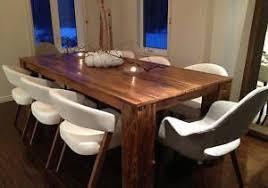 table cuisine en bois table de bois decoration recuperer des traverses pour creer basse