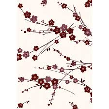 Dynamic Rugs Dynamic Rugs Infinity Ivory Red 7 Ft 10 In X 11 Ft 2 In Indoor