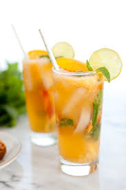 mango mojito recipe ginger peach mojito mocktail mojito mocktail mojito and peach