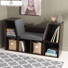 Kidkraft Storage Bench Kidkraft Bookcase Private Cushioned Reading Bench Nook Storage