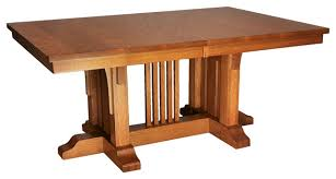 Mission Dining Room Table Mission Luxury Table Craftsman Dining Tables Made Mission