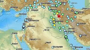 map iran iraq more than 348 dead thousands injured in powerful iran iraq quake