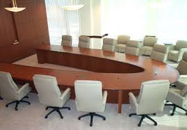 wooden conference table design