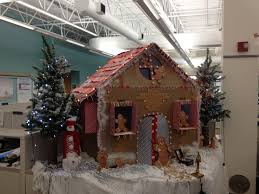decorating office cubicle doors pleasing christmas decorations