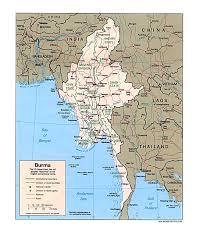 Bay Of Bengal Map Wps Port Of Yangon Satellite Map