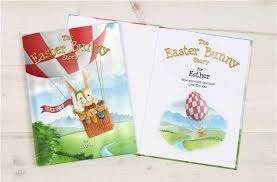 easter bunny books the easter bunny personalised story book fudge kids uk