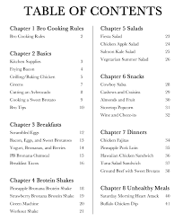 6 best images of anarchist cookbook table of contents cookbook