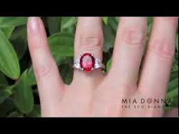 lab created engagement ring lab created ruby engagement rings miadonna