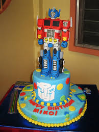 optimus prime birthday party optimus prime cakes decoration ideas birthday cakes