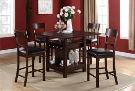 impressive inspiration counter height dining table with storage