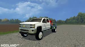 Chevy Silverado Work Truck 2015 - chevy silverado 3500 flatbed mod for farming simulator 2015 15
