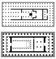 floor plan of the parthenon the temple of artemis at ephesus daydream tourist