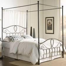 Antique Metal Bed Frame Wrought Iron Bed Frames Vintage Ktactical Decoration