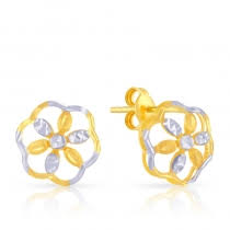s gold earrings gold earrings for women online malabar gold diamonds us