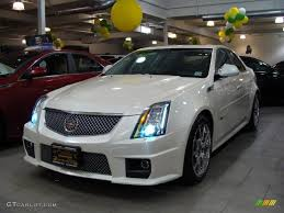 2009 cadillac cts v horsepower 2009 white tri coat cadillac cts v sedan 29137532