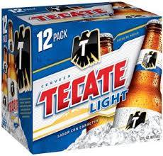 tecate light alcohol content tecate light beer 12 pk bottles shop import beer at heb