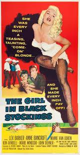 in black stockings 1957 cult movie memorabilia
