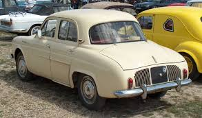 renault dauphine gordini renault dauphine technical details history photos on better