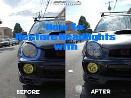 subaru wagon jdm meguiars headlight restoration diy subaru wrx jdm youtube