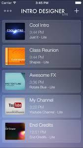 intro designer lite create intros for imovie on the app store