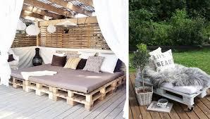 canapé de jardin en palette salon de jardin palettes frais stock jardin palette pas cher