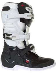 s moto x boots alpinestars black white tech seven s mx boot alpinestars