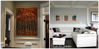How To Hang Pictures On A Wall The Right Height To Hang Artwork And Mirrors U2013 Tips And Ideas