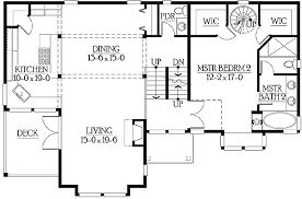split level floor plan split level with unique modern floor plan 23229jd 1st floor plans