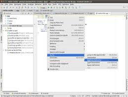 jni tutorial linux create hello cmake with android studio