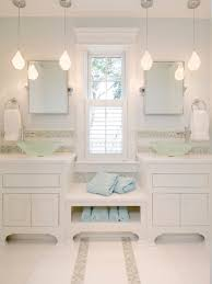 White Bathrooms by Best Pendant Lighting Bathroom Vanity For Awesome Nuance White