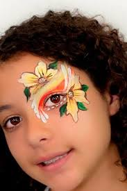 hawaii face paint