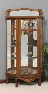 Antique Curio Cabinet With Clock Cleaning The Glass Curio Cabinets U2014 Jen U0026 Joes Design