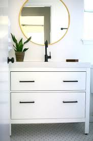 Ikea Wall Planter Bathroom Hemnes Bathroom Vanity With Decorative Planter Also