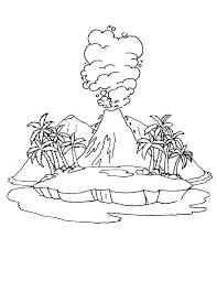 coloring pages volcano coloring pages volcano marijuanafactorfiction org