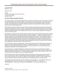 teacher position cover letter