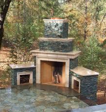 build outdoor fireplace home interiror and exteriro design