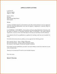 application letter for teacher job sample of application letter for teacher 1 writing and thinking