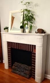 faux birch fireplace logs home design ideas