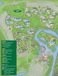 New Orleans French Quarter Map by April 2017 Walt Disney World Resort Hotel Maps Photo 7 Of 33