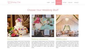 wedding cake websites wedding cake theme prepbootstrap