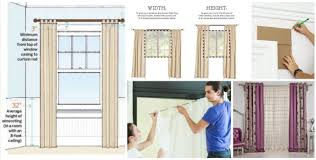 How High To Mount Curtain Rod Curtain Pole Height Above Window Nrtradiant Com