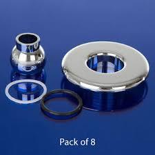 Bathtub Jet Covers Replacement Whirlpool Bath Chrome Jet Covers U0026 Eyeballs Pack Of